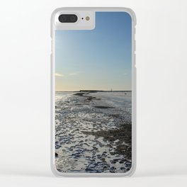 Frozen Sea in a Cold Winter Day Clear iPhone Case