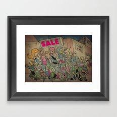 Sale Framed Art Print