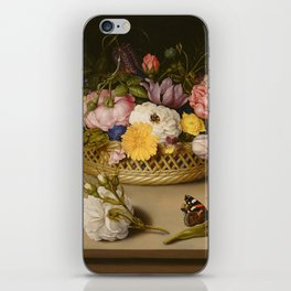 Ambrosius Bosschaert the Elder (Dutch Flower Still Life iPhone Skin