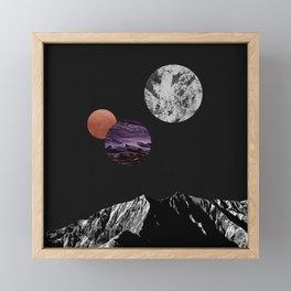 Space I Framed Mini Art Print