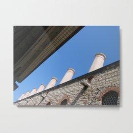 Blue in Istanbul (2008) Metal Print