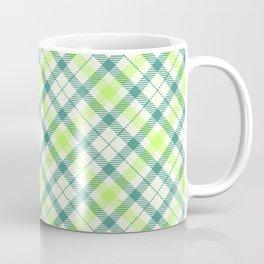 Spring Plaid Coffee Mug