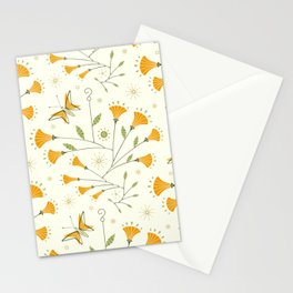 Super Bloom Poppy Mobiles ©studioxtine Stationery Cards