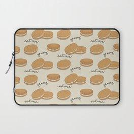 Brown cookies Laptop Sleeve