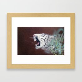 tigerblood Framed Art Print