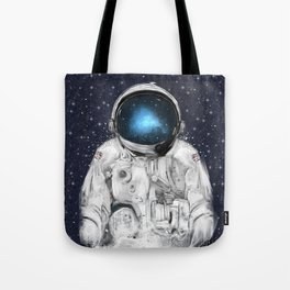 space adventurer Tote Bag