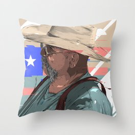 Until the end. Throw Pillow