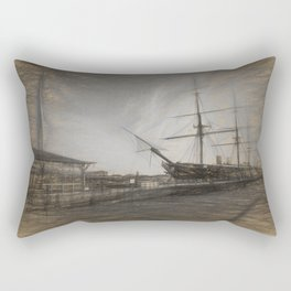 Warrior sketch Rectangular Pillow