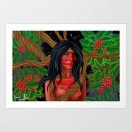 Ayahuasca  Art Print