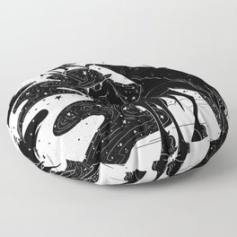 Dark Wings Floor Pillow