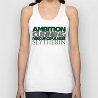 slytherin Tank Tops featuring Slytherin by Fanboy's Canvas