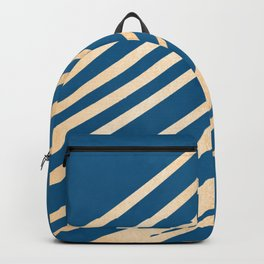 Swish - Orange Sherbet Shimmer on Saltwater Taffy Teal Backpack