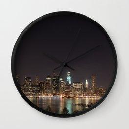 Lower Manhattan Wall Clock