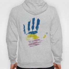 Pansexual Hand Hoody