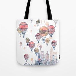Voyages Over Santa Monica ~ Refresh Tote Bag