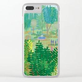 Xochimilco Clear iPhone Case