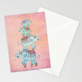LUCKY ELEPHANTS Stationery Cards