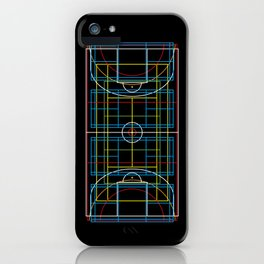 Sports Courts iPhone Case