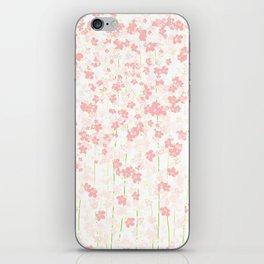 Pink Shidare Zakura iPhone Skin