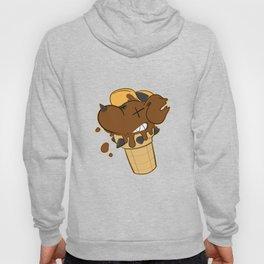 Cone Dog Chocolate Hoody