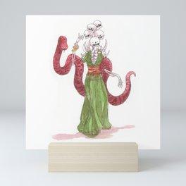 Envy - Skeleton - Seven sins Mini Art Print