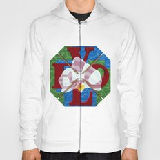 Orchid Love Letters Hoody