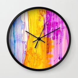 Winter Pink 1 Wall Clock
