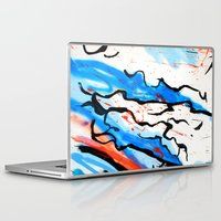 american Laptop & iPad Skins featuring American by LA_Graffiti Decor