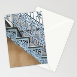 Savannah Blue Staircase Stationery Cards