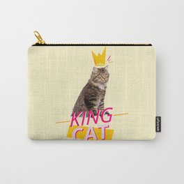 King Cat Carry-All Pouch