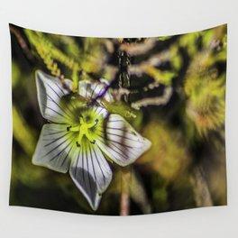 Small Alpine flower on Mount Ruapehu Wall Tapestry