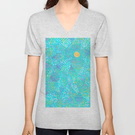 dotted sky Unisex V-Neck