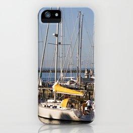 Sailboat Marina - Warnemünde - Baltic Sea iPhone Case