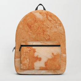Brown & Beige Marble Backpack