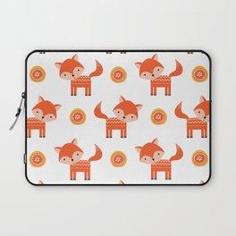 Orange Fox Laptop Sleeve