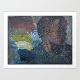 Swazi Art 14 Art Print