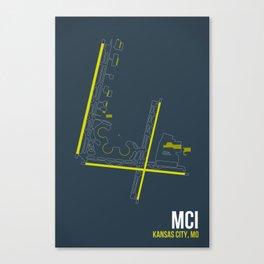 MCI Canvas Print