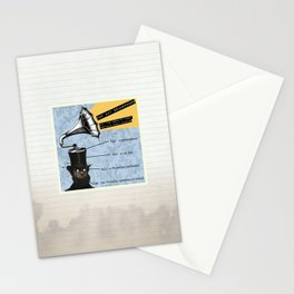 Top Hat Gramophone Stationery Cards