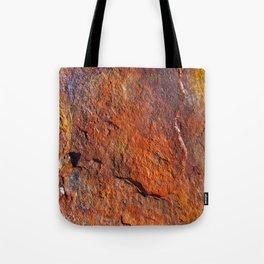 Fire Stone rustic decor Tote Bag