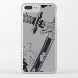 Rivalries: Han-dachi (b&w) Clear iPhone Case