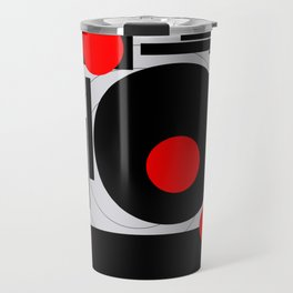 Optical Red Travel Mug