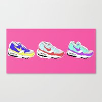 nike Canvas Prints featuring Nike Air by caseysplace