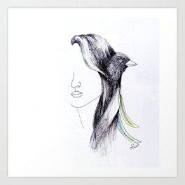 Ying - Nature Art Print