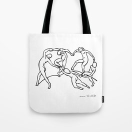 Henri Matisse The Dance and Music Line Artwork Hermitage Sketch For Prints Tshirts Posters Bags Men Tote Bag
