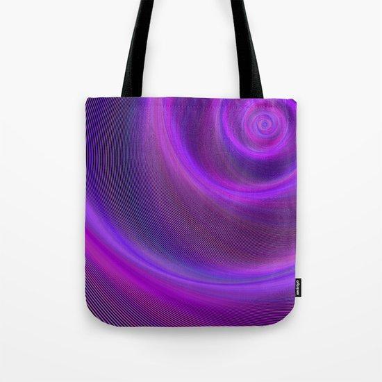 Purple night storm Tote Bag