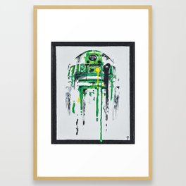 Green Menace 2 Framed Art Print