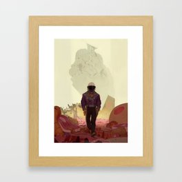 Fornax Void and the Meat King Framed Art Print