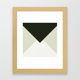 MNML II Framed Art Print