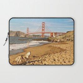 Sign of San Francisco Laptop Sleeve