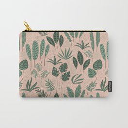 seamless patterns leaves Carry-All Pouch